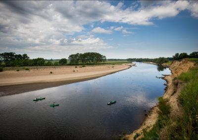 """La Loire au """"Petit Fleury"""" - Les petits castors."""
